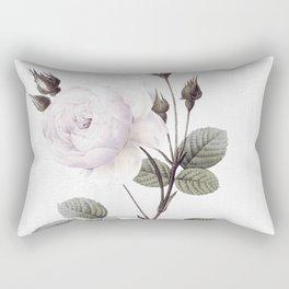 low colored rose pattern Rectangular Pillow