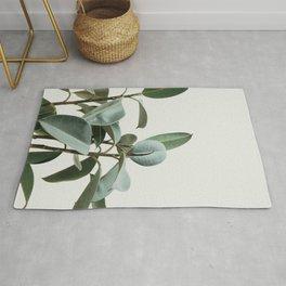 Leaf Print Rug