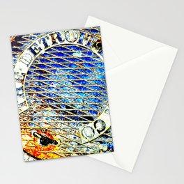 Detroit Edison Manhole Cover Art Stationery Cards
