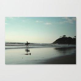 MONDAY BLUES Canvas Print
