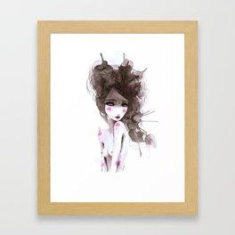 watercolor I Framed Art Print