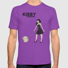 Kirby Hoover LARGE Ultraviolet Mens Fitted Tee