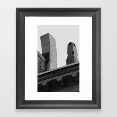 Oh! Chimneys Framed Art Print