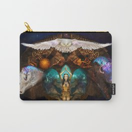 Calling The Spirit Animals Carry-All Pouch