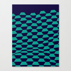 Foundry Blu —Matthew Korbel-Bowers Canvas Print