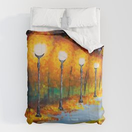 Lights will guide you home Comforters