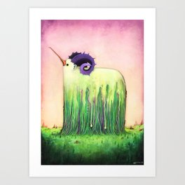 Yakram Forest Art Print