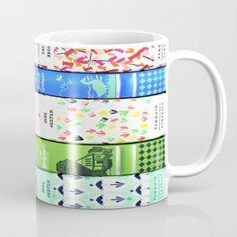 Pretty Book Stack - Part 1 Coffee Mug