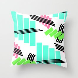 It's Time To Go Back Throw Pillow