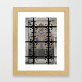 Cloister Detail Framed Art Print