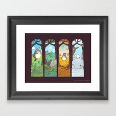 Spirit of the seasons Framed Art Print