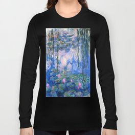 Water Lilies Monet Long Sleeve T-shirt