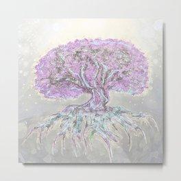 Tree of Life Lightness of Air Metal Print