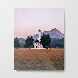 St. Coloman church Swangau Bavaria Germany Metal Print