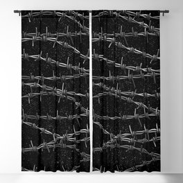 Bouquets of Barbed Wire Blackout Curtain