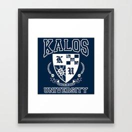 Kalos University Framed Art Print