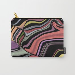 ROMA - bright bold abstract colours with black Carry-All Pouch