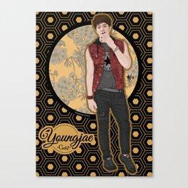 Youngjae -Got7- Canvas Print