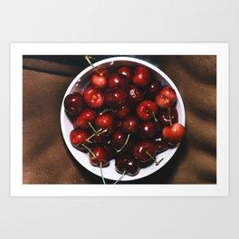 Cherry Good Art Print