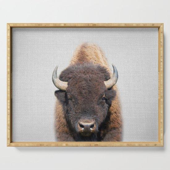 Buffalo - Colorful by galdesign