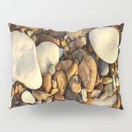 Beach Pebbles Pillow Sham