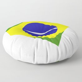 brazil flag Floor Pillow