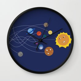 Chasing the Sun Wall Clock