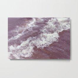 purple ocean Metal Print