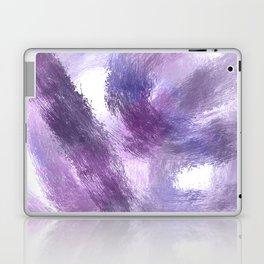 Purple Watercolor Abstract Art Laptop & iPad Skin