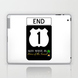U.S. Route 1 Road Sign Laptop & iPad Skin