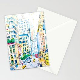 Downtown Manhattan  Stationery Cards