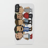 1d iPhone & iPod Cases featuring Schulz 1D by Ashley R. Guillory