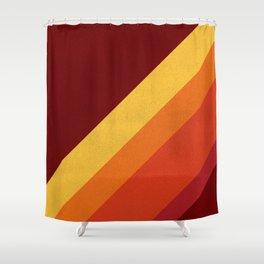 Retro 70s Color Palette II Shower Curtain