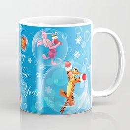 New Year Card Coffee Mug