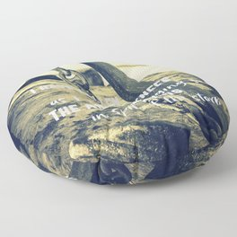 The Anchor Holds Floor Pillow