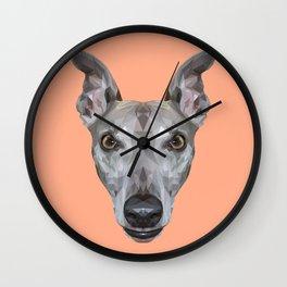 Whippet // Peach (Vespa) Wall Clock