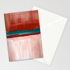 March Abstract Four Stationery Cards