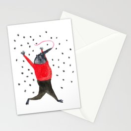 He Dreams of Ants Stationery Cards