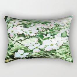 Pink in the park Rectangular Pillow