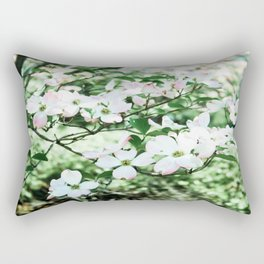 Pink in the park Rectangular Pillow