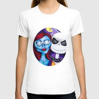 nightmare before christmas T-shirts featuring Nightmare Before Christmas by Janelle Jex