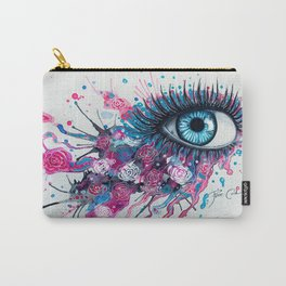 """""""Midnight Rose"""" Carry-All Pouch"""