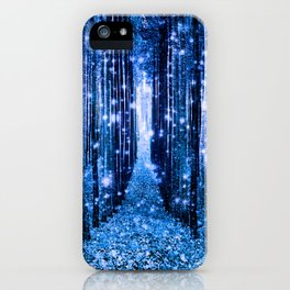 Magical Forest Bluest Blue iPhone Case