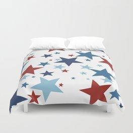 Stars - Red, White and Blue Duvet Cover