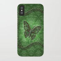 decorative iPhone & iPod Cases featuring Decorative butterfly by nicky2342