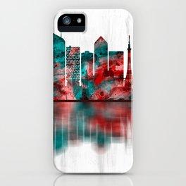 Lyon France Skyline iPhone Case