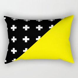 Memphis pattern 80 Rectangular Pillow