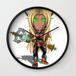 Blood Elf Paladin Chibi Wall Clock