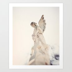 Angel no 2 - St Louis Cemetery, New Orleans Art Print