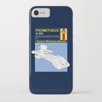 prometheus iPhone & iPod Cases featuring Prometheus  by Paul Elder